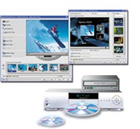 All-in-one DV to DVD